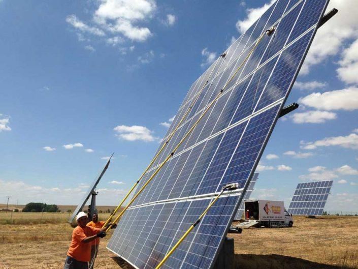 limpieza placas solares murcia